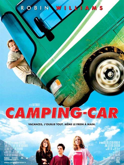 Camping car cover