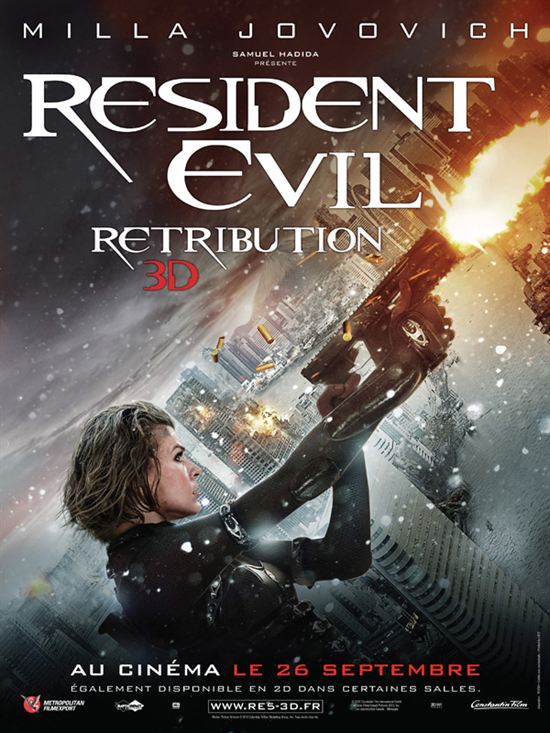20204615 Resident Evil: Retribution | MD