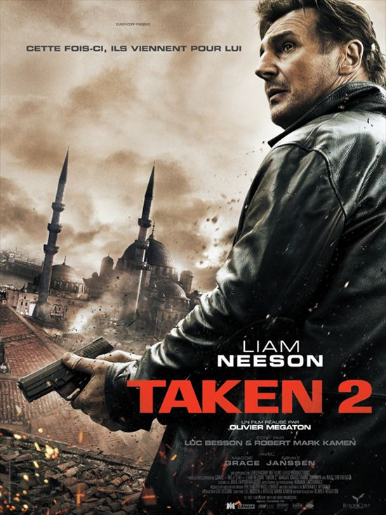 Taken 2 | BRRiP + DVDRIP + HDRIP + BDRIP| TRUEFRENCH 1CD + AC3
