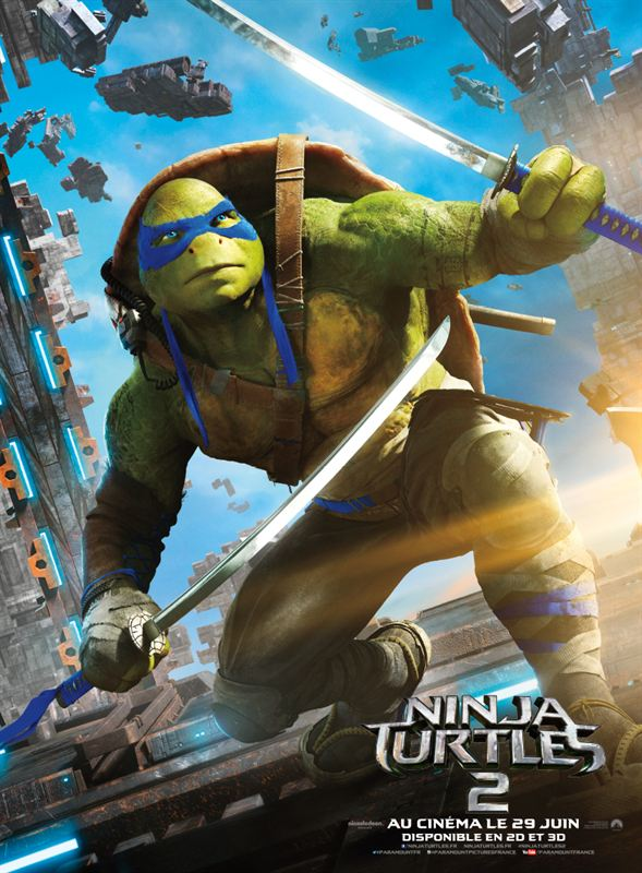 Ninja Turtles 2 [VOSTFR HD-TS]