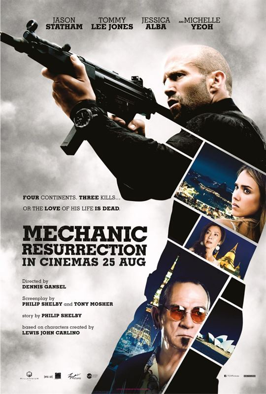 Mechanic Résurrection [FRENCH BDRiP]