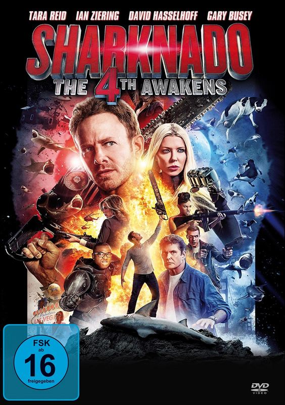 Sharknado: The 4th Awakens EN STREAMING [DVDRIP-TrueFrench]