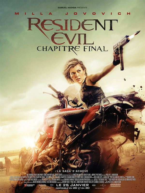 Resident Evil : Chapitre Final TRUEFRENCH  TS