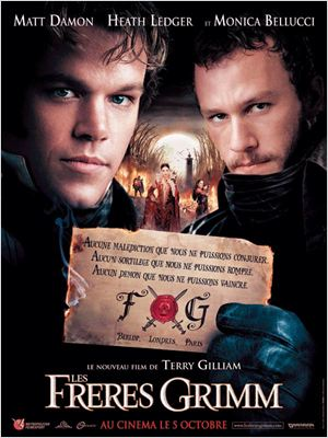Les Frères Grimm dvdrip truefrench