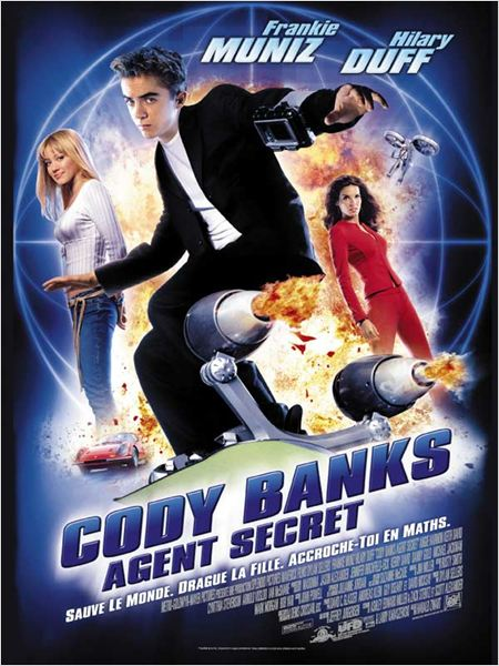 Cody Banks : agent secret - Affiche