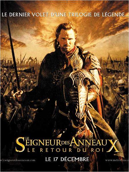 Le Seigneur des anneaux : le retour du roi : affiche Peter Jackson, Viggo Mortensen