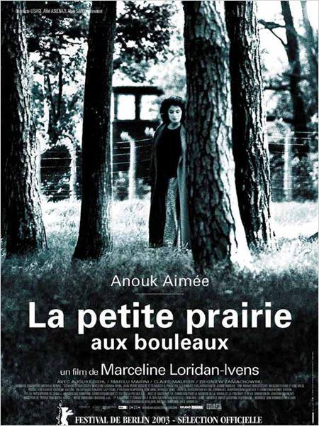 La Petite prairie aux bouleaux : affiche Anouk Aimée, Marceline Loridan-Ivens
