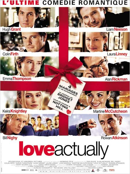 Love Actually : affiche Alan Rickman, Colin Firth, Emma Thompson, Hugh Grant, Keira Knightley
