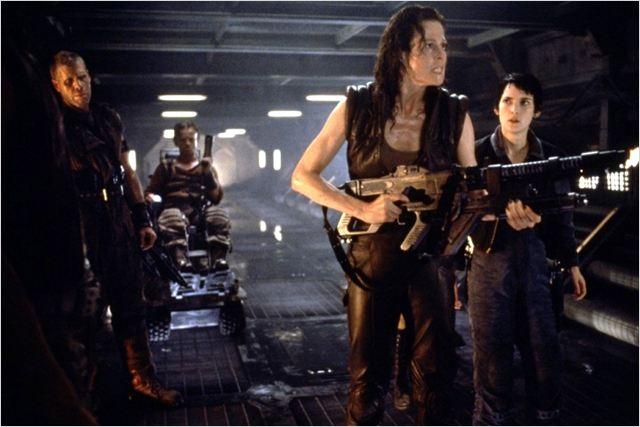 Alien, la résurrection : photo Ron Perlman, Sigourney Weaver, Winona Ryder