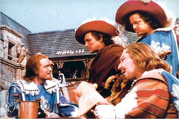 Les Trois mousquetaires : photo Gene Kelly, George Sidney, Gig Young, Robert Coote, Van Heflin
