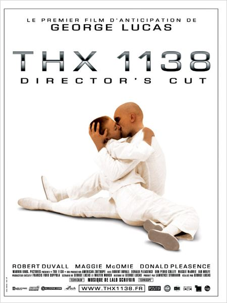 Thx 1138  DIRECTORS CUT (1971)  [FRENCH] [BRRip AC3] [MULTI]