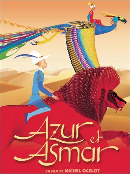 Azur et Asmar - Affiche