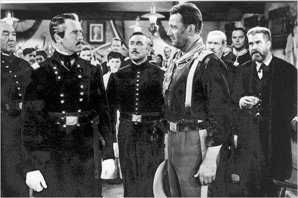 Le Massacre de Fort Apache : photo Henry Fonda, John Ford, John Wayne