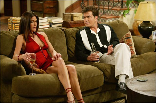 Mon oncle Charlie : Photo Charlie Sheen, Teri Hatcher