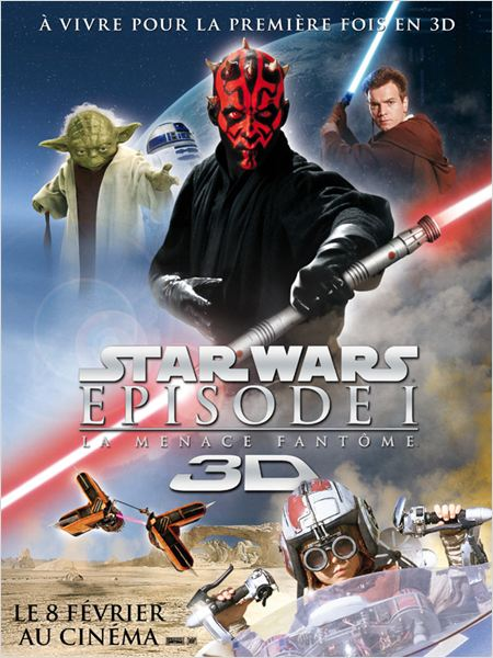 Star Wars - La menace fantôme 3D