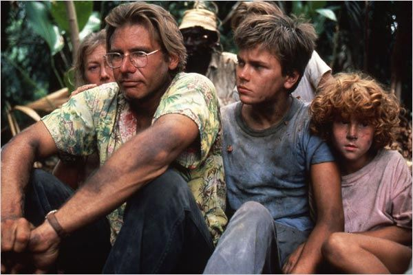 The Mosquito Coast : Photo Harrison Ford, Peter Weir, River Phoenix