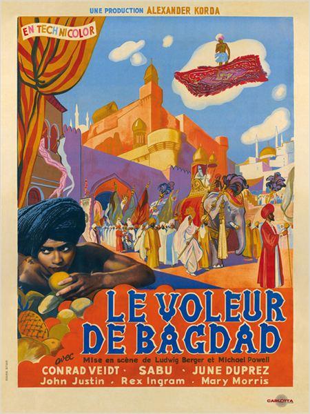 Le Voleur de Bagdad : affiche