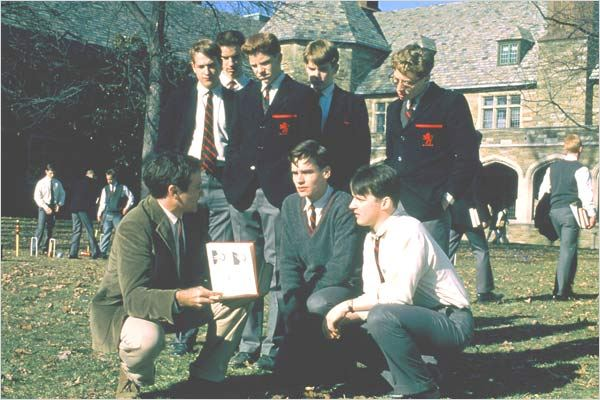 Le Cercle des poètes disparus : photo Peter Weir, Robert Sean Leonard, Robin Williams