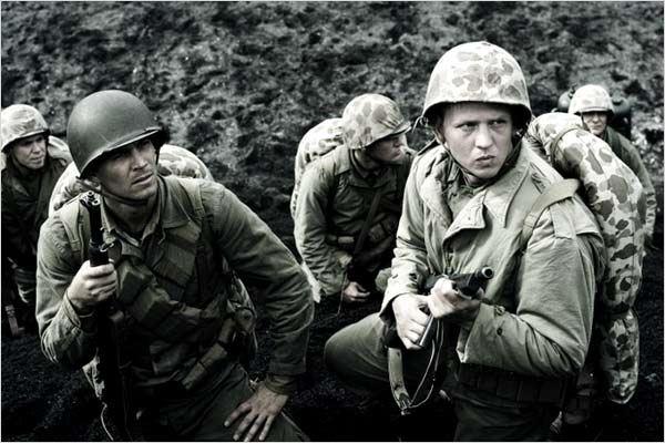 Mémoires de nos pères : photo Clint Eastwood, Paul Walker, Stark Sands