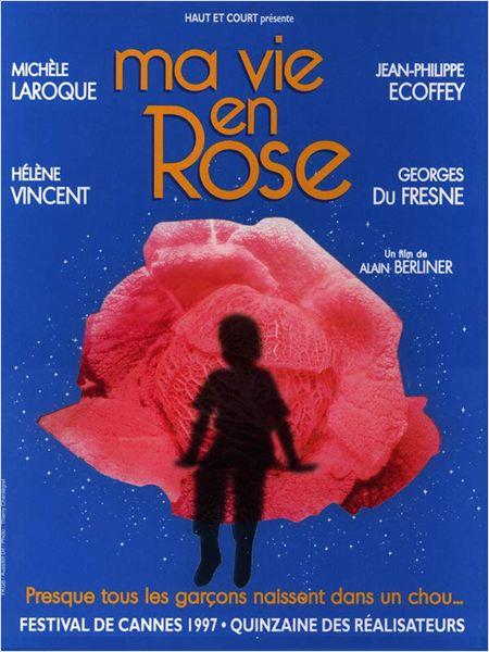 Ma vie en rose : affiche Alain Berliner