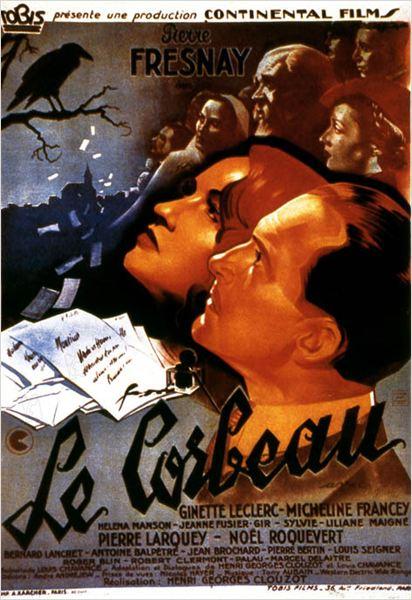 Le Corbeau : affiche Henri-Georges Clouzot