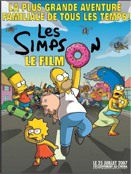 Les Simpson - le film - Affiche