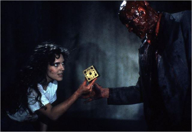 Hellraiser le pacte : photo Ashley Laurence, Clive Barker