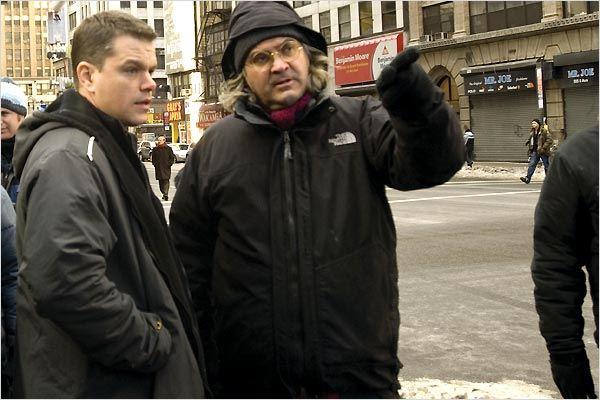 La Vengeance dans la peau : photo Matt Damon, Paul Greengrass