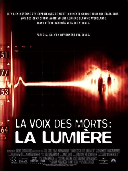 La Voix des morts : la lumière : affiche Patrick Lussier