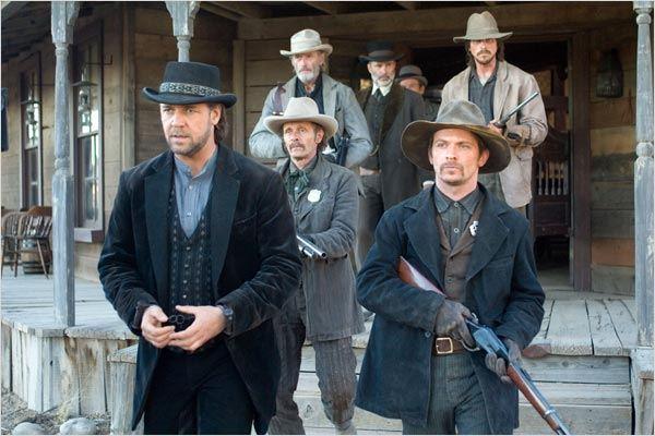 3h10 pour Yuma : photo Chad Brummett, Christian Bale, James Mangold, Lennie Loftin, Peter Fonda