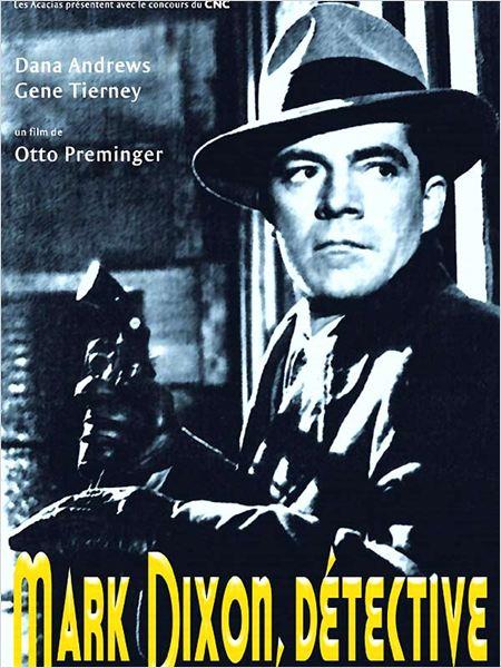 Mark Dixon, détective : affiche