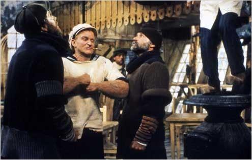 Popeye : photo Robert Altman, Robin Williams