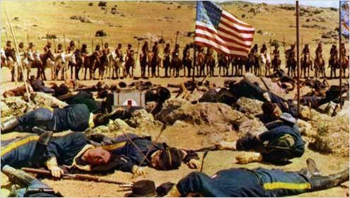 Custer, l'homme de l'ouest : photo Robert Siodmak
