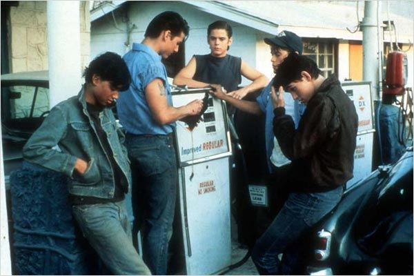 Outsiders : Photo C. Thomas Howell, Francis Ford Coppola, Matt Dillon, Ralph Macchio, Rob Lowe