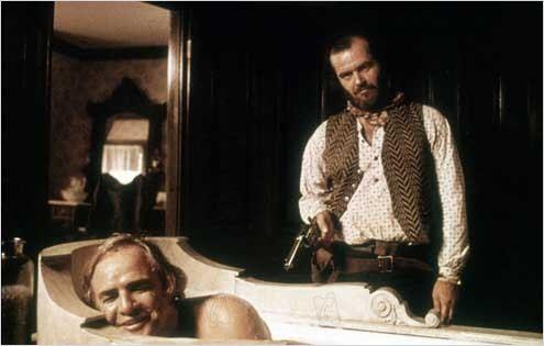 Missouri Breaks : photo Arthur Penn, Jack Nicholson, Marlon Brando