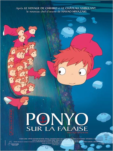 Ponyo sur la falaise Streaming Film