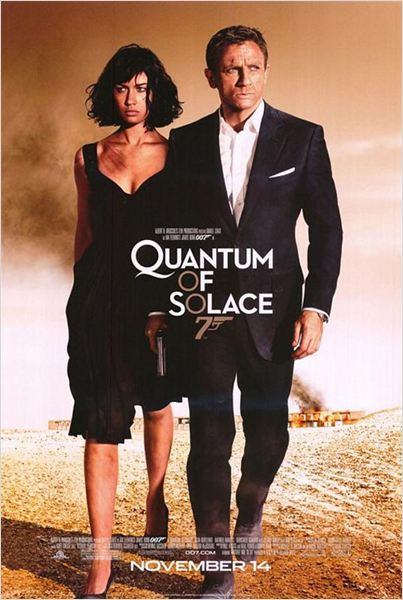 James Bond – Quantum of Solace