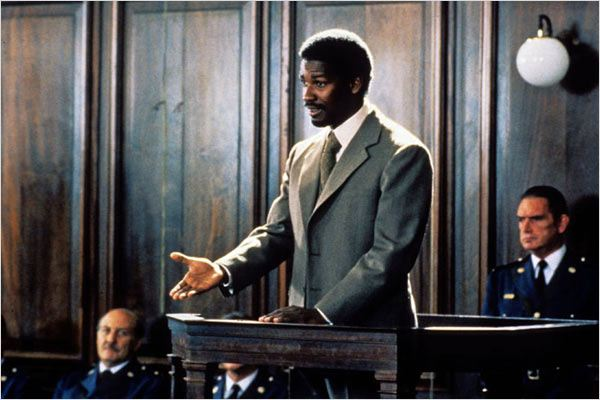 Cry Freedom : photo Denzel Washington, Richard Attenborough