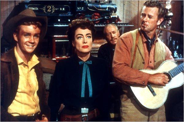 Johnny Guitar : photo Joan Crawford, Nicholas Ray, Sterling Hayden