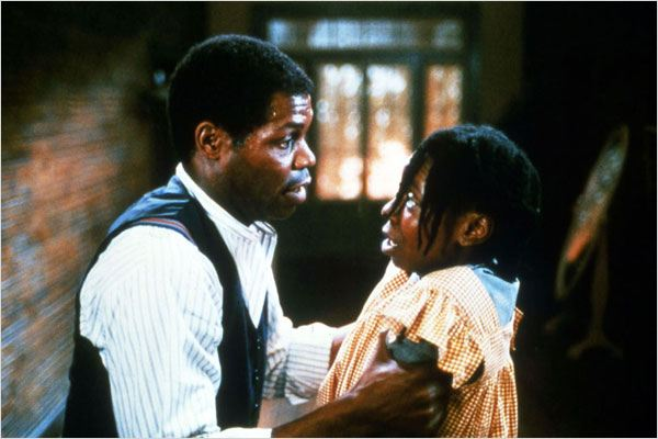 La Couleur pourpre : photo Danny Glover, Steven Spielberg, Whoopi Goldberg