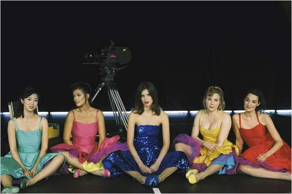 Le Bal des actrices : photo Jeanne Balibar, Julie Depardieu, Linh-Dan Pham, Maïwenn, Mélanie Doutey
