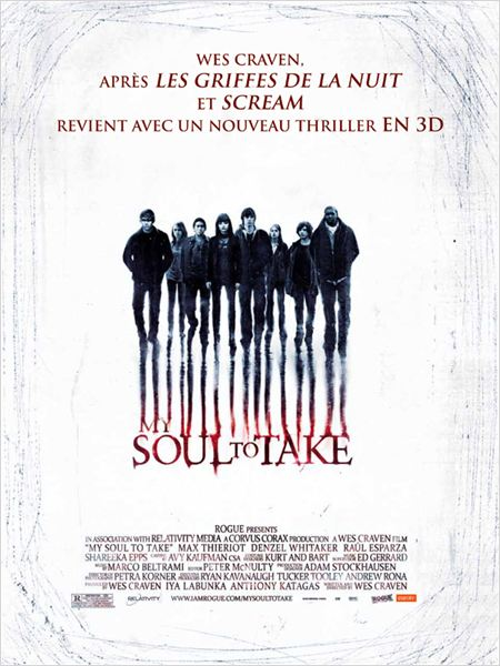 My Soul To Take : affiche