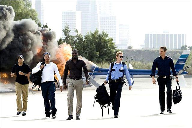 Takers : Photo Chris Brown, Hayden Christensen, Idris Elba, Michael Ealy, Paul Walker
