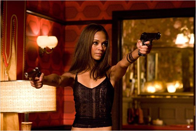 The Losers : photo Sylvain White, Zoe Saldana