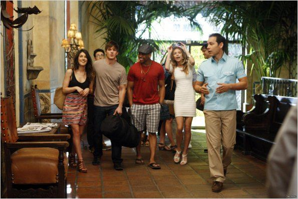 Photo Annalynne McCord, Matt Lanter, Shenae Grimes, Tristan Wilds