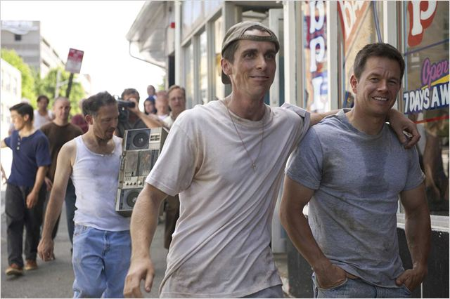 Fighter : photo Christian Bale, David O. Russell, Mark Wahlberg