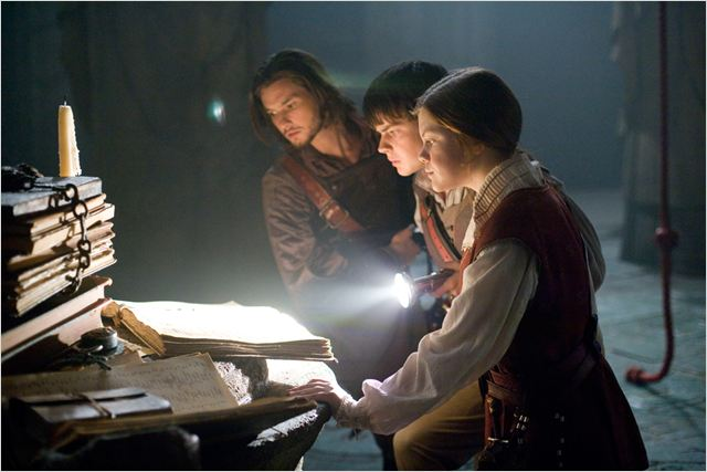 Le Monde de Narnia : L'Odyssée du Passeur d'aurore : photo Ben Barnes, Georgie Henley, Michael Apted, Skandar Keynes