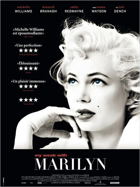 My Week with Marilyn : affiche