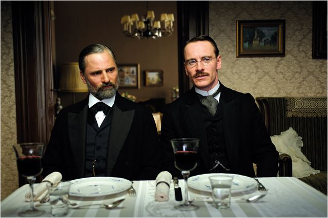 A Dangerous Method : photo David Cronenberg, Michael Fassbender, Viggo Mortensen