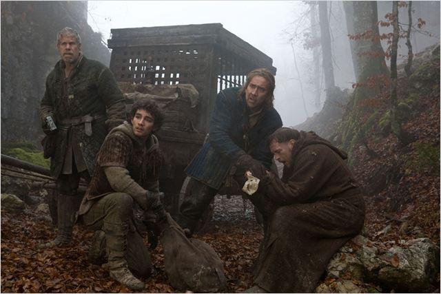 Le Dernier des Templiers : photo Dominic Sena, Nicolas Cage, Robert Sheehan, Stephen Campbell Moore, Ulrich Thomsen